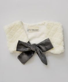 Loving this Ivory Faux-Fur Bolero - Infant & Toddler on #zulily! #zulilyfinds