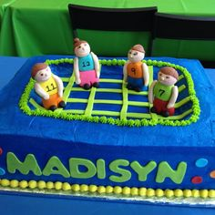 Trampoline party cake fun ideas Pinterest Trampoline party and