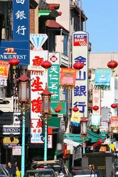 Chinatown San Francisco. A Walk along Grant Street #MyHometownPins