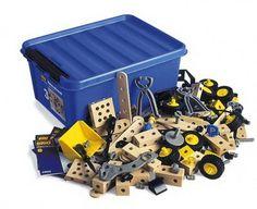Brio Builder XL Kindergartenbox 34582 Konstruktionsbaukasten **284 Teile**
