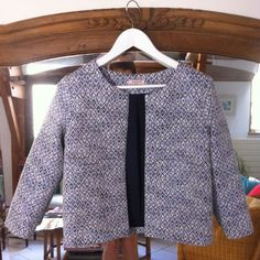 Tuto pour doubler un gilet ou une veste Gilet Monceau doublé - on sunday mornings