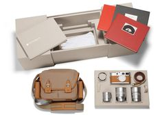 leica/hermes limited edition m9-p set...  serious craftmanship with a serious price tag - USD50,000!!! #leica #hermes
