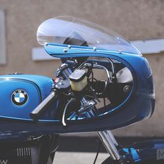 Bavarian Cafe BMW R100 LSB shot by @The Mighty Motor