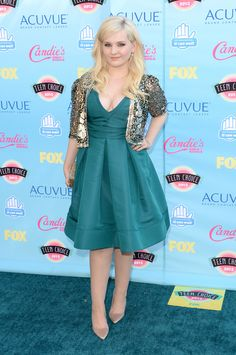 Abigail Breslin   Fashion At The 2013 Teen Choice Awards