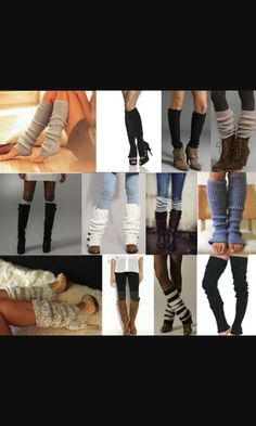 How to wear: leg warmers!