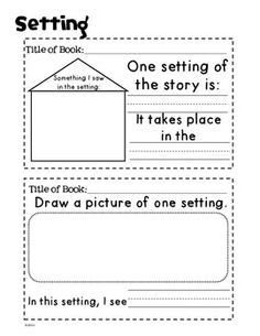 GUIDED READING JOURNAL POST-ITS: KINDERGARTEN & FIRST GRADE - TeachersPayTeachers.com