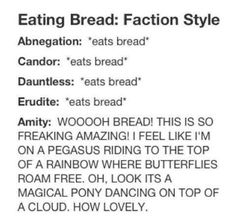 Eating bread faction style