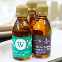 a9b144636c5 Personalized Maple Syrup Wedding Favor
