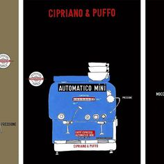 Which one would you prefer? Look into these three espressomachines from Cipriano & Puffo and many more heavily kitchen related art prints on www.thekitchenseries.com. Stay kitchen tuned.  #thekitchenseries #art #graphics #graphicdesign #danish #danishdesign #artprint #archival #print #poster #kitchenposter #kitchenart #kitchen #coffee #caffe #barista #espresso #espressomachine #italiancoffee #goodcoffee #coffeetime #coffeelover #kitchendesign #modernkitchen #kitchenware #kitchentools #food…