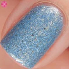 Blue-Eyed Girl Lacquer: Snowbunny Siren (Siren Series) #blueeyedgirllacquer #begl #beglove #swatch #indiepolish #beglsiren