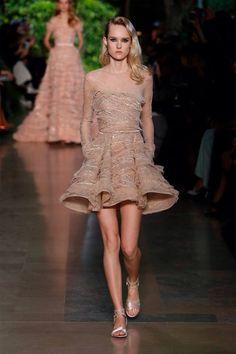 Elie Saab - Haute Couture - Spring Summer 2015 - Paris Fashion Week - Show #pfw