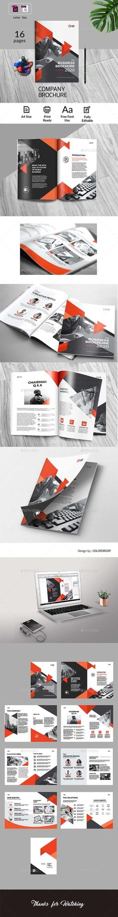 Company Brochure — InDesign INDD #elegant #catalog • Download ➝ https://graphicriver.net/item/company-brochure/21194987?ref=pxcr