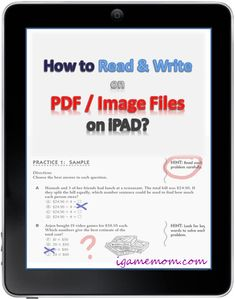 How to Read and Write on PDF on iPAD