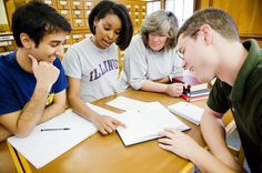 Utilizing group study sessions to learn and retain information for tests