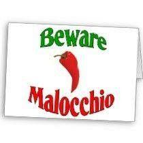 Beware malocchio