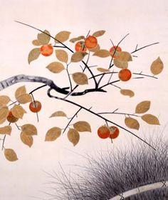 小林古径《秌采(しゅうさい)》 1934(昭和9)年 山種美術館