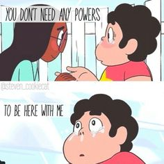 Steven universe. I just love you <3 :3