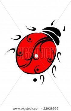 joaninha tribal - Pesquisa Google