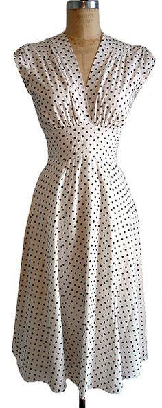 trashy diva white polka dot dress - Google Search