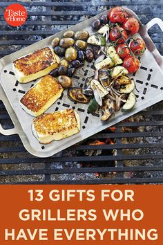 13 Gifts for Grillers Who Have Everything Grilling Gifts, Grill Master, Taste Of Home, Food Gifts, Vegetable Pizza, Everything, Recipes, Recipies, Ripped Recipes
