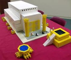 Solomon's Temple in Lego!