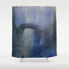 Under the bridge Shower Curtain by taylorbernart Bathroom Curtains, Shower Curtains, Hooks, Crisp, Colorful, Usa, Space, Prints, Decor