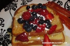 French toast with CANDY syrup! To die for! #food