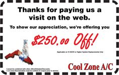 Cool Zone AC Before you call a AC repair man visit my blog for some tips on how to save thousands in ac repairs. Go here: www.acrepaircarrollton.net/