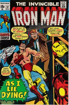 Iron Man #37 May 1971 Issue Marvel Comics Grade by ViewObscura