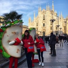 Guerrilla marketing in Milan