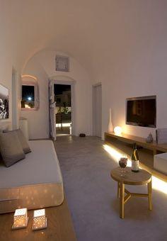 Anemolia Villa, Santorini, 2013 #soft #light #interiors Minimalist Furniture, Minimalist Interior, Minimalist Bedroom, Minimalist Decor, Minimalist Living, Minimalist Style, Villas, Home Bedroom, Bedroom Decor