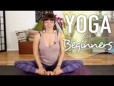 Deep Hip Opening Stretches - Beginners Yoga Sequence - YouTube