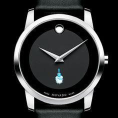 Citadel Men's Movado Museum with Leather Strap at M.LaHart & Co.