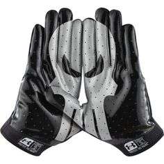 Under Armour Adult Alter Ego Punisher Football Receiver Gloves - Super hero football gloves! Nfl Gear, Football Gear, Football Gloves, Football Outfits, Football Boys, Football Cleats, Football Stuff, Football Clothing, Football Equipment