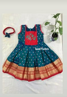 Kids Party Wear Dresses, Kids Dress Wear, Baby Girl Party Dresses, Kids Gown, Girls Frock Design, Kids Frocks Design, Baby Frocks Designs, Girls Dresses Sewing, Stylish Dresses For Girls
