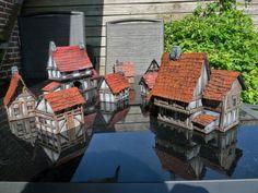 Simple Medieval Wargaming. Buildings Good tutorial on this site