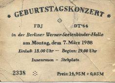 Depeche Mode, Werner Seelenbinder Halle, Ostberlin