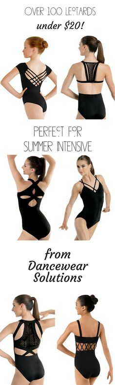 Over 100 leotards and dancewear items under $20!