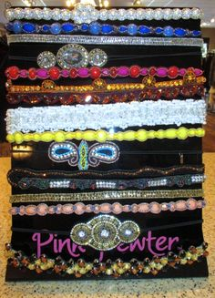 Hair | All new SPRING Pink Pewter headbands just arrived!!! Don't miss out - these go fast!!