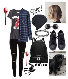 """Love Yourself"" by thaisa-tcs ❤ liked on Polyvore featuring River Island, Old Navy, Zucca, AllSaints, Converse, MICHAEL Michael Kors, women's clothing, women, female and woman"