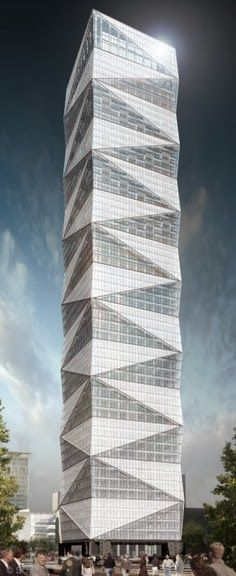 Jinao Tower, Nanjing, China  | See More  #architecture ☮k☮