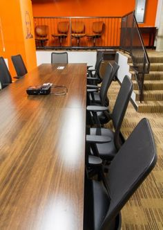 Perfect space for your powwow, meeting, or brainstorm