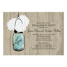 ==> reviews          	Engagement Party Rustic Wood Mason Jar Hydrangeas Announcement           	Engagement Party Rustic Wood Mason Jar Hydrangeas Announcement Yes I can say you are on right site we just collected best shopping store that haveThis Deals          	Engagement Party Rustic Wood Ma...Cleck See More >>> http://www.zazzle.com/engagement_party_rustic_wood_mason_jar_hydrangeas_invitation-161374571846364103?rf=238627982471231924&zbar=1&tc=terrest