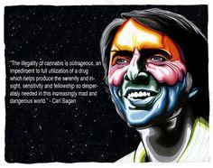 marijuana quote carl sagan
