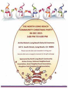 North Long Beach Communuty Christmas Party 12-6-2015