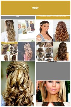 Image result for bridesmaid braid frisuren Konfirmation frisuren Konfirmation Dreadlocks, Hair Styles, Beauty, Meal, Hair Makeup, Hairdos, Cosmetology, Dreads, Hair Cuts