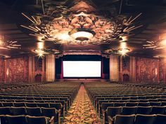 Let's Sneak into California's most Beautiful Art Deco Cinemas