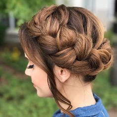 "121.5k Likes, 415 Comments - Rosanna  Pansino (@rosannapansino) on Instagram: ""Braid Crown """