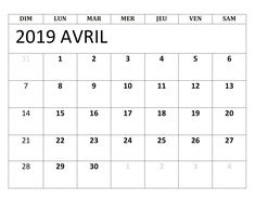 Calendrier 2019 Mensuel Avril Planificateur | Best Reviews 2019 Buyers Guide, Periodic Table, Words, Planner Organization, White People, Periodic Table Chart, Periotic Table, Horse