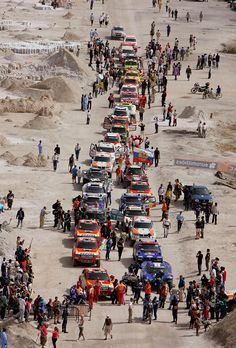 Dakar Rally (a.k.a. 'The Dakar', or The Paris-Dakar', or 'Paris to Dakar Rally'). Started in 1978, the race went from Paris, France to Dakar, Senegal. Due to security threats in Mauritania the 2008 rally was cancelled. Since 2009 the Dakar Rally has been run in South America (Argentina and Chile). The off-road endurance race is open to amateurs and professionals.